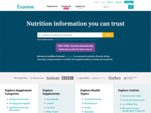 Examine analyzes and summarizes the latest scientific research to help you be healthier.